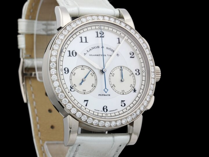 A. Lange & Söhne 1815 Chronograph Soiree, 54 Diamonds, Mother of Pearl, 823.029 MOP