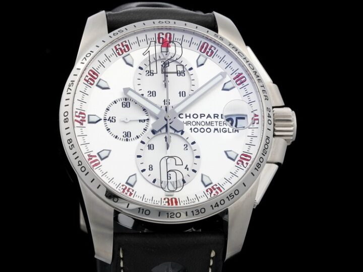CHOPARD 1000 MILLE MIGLIA GT XL CHRONO SPEED SILVER TITAN LIMITED OF 1000 | 168459-3041