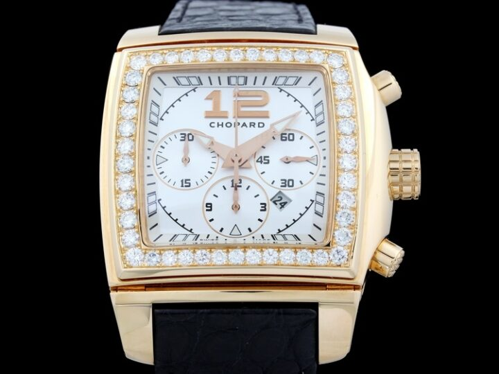CHOPARD TWO O TEN CHRONOGRAPH MIT DIAMANTBESATZ 18KT ROTGOLD | 172287-5001