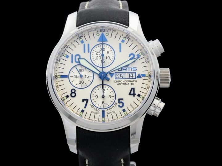 FORTIS F-43 FLIEGER DAY DATE CHRONOGRAPH 43MM | 701.20.92 L 01
