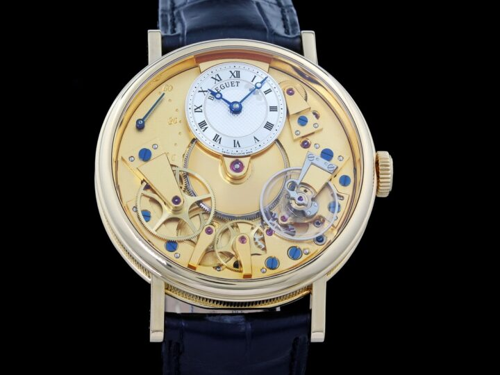 Breguet Tradition Power Reserve 38mm, Gelbgold, 7037BA/11/9V6