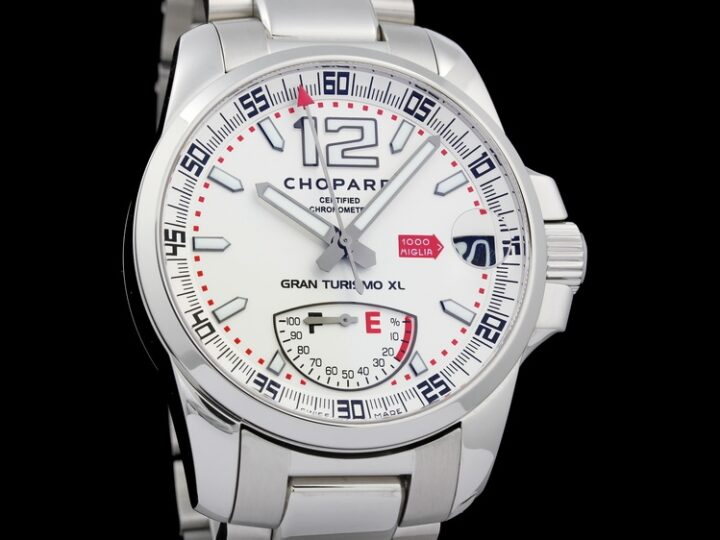 CHOPARD 1000 MILLE MIGLIA GT XL POWER CONTROL SILVER DIAL 44MM | 158457-3002