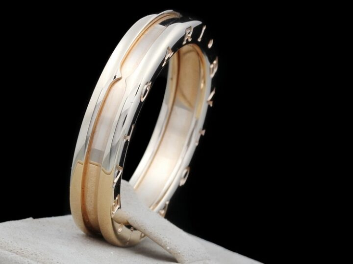 BULGARI B.zero1 1-BAND-RING 18kt ROSEGOLD RG. 61 | REF. AN852422