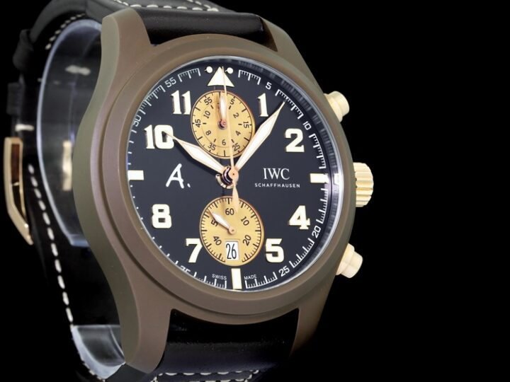 IWC FLIEGERUHR CHRONOGRAPH THE LAST FLIGHT KERAMIK LIMITED OF 170PCS | IW388006