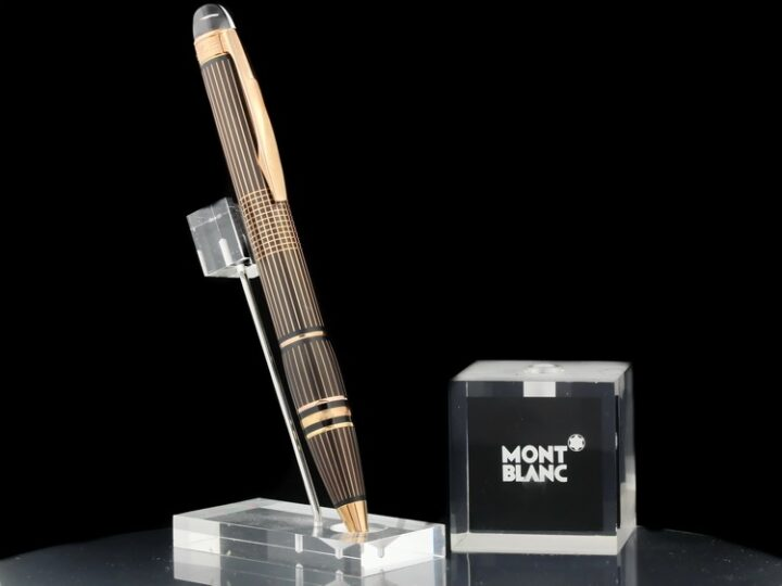 MONTBLANC STARWALKER RED GOLD PLATED METAL ROLLERBALL | 106869