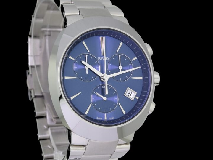 RADO D-STAR XL CHRONOGRAPH BLAUES ZB 42MM | R15937203 | 01.541.0937.3.020