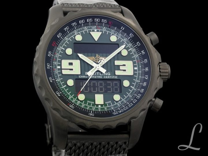 BREITLING PROFESSIONAL CHRONOSPACE BLACKSTEEL LIMITED OF 1000PCS | M7836522/L521
