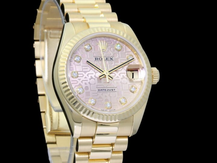 Rolex Datejust Medium 31mm, Diamantbesatz ZB, Ref.178278