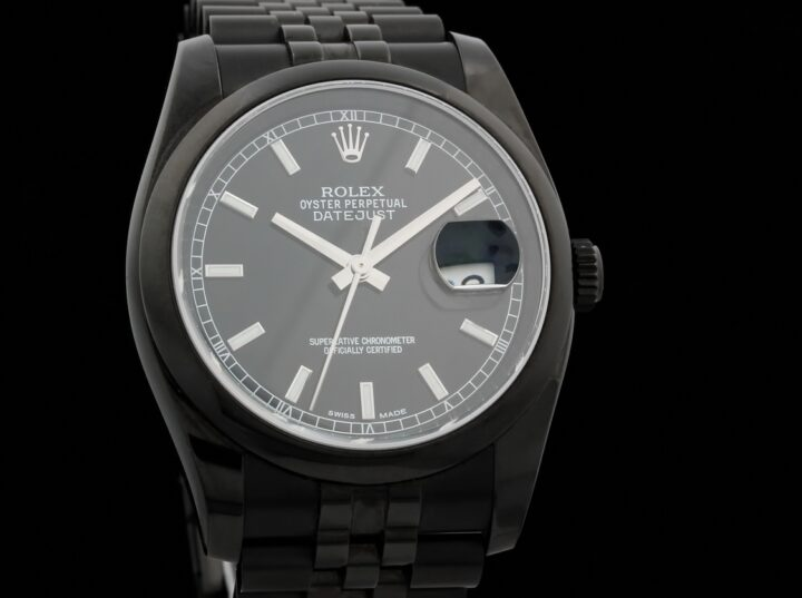 Rolex Datejust Black-Out Project X, Black Baton, 116200