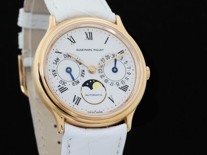 AUDEMARS PIGUET CLASSIC DRESS DAY DATE MOONPHASE ROSEGOLD | 25589OR.OO.0002XX.01