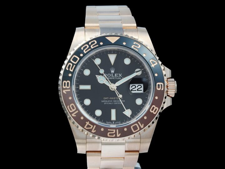 Rolex GMT-Master II Everosegold 40mm Root Beer, LC100/2020, 126715CHNR