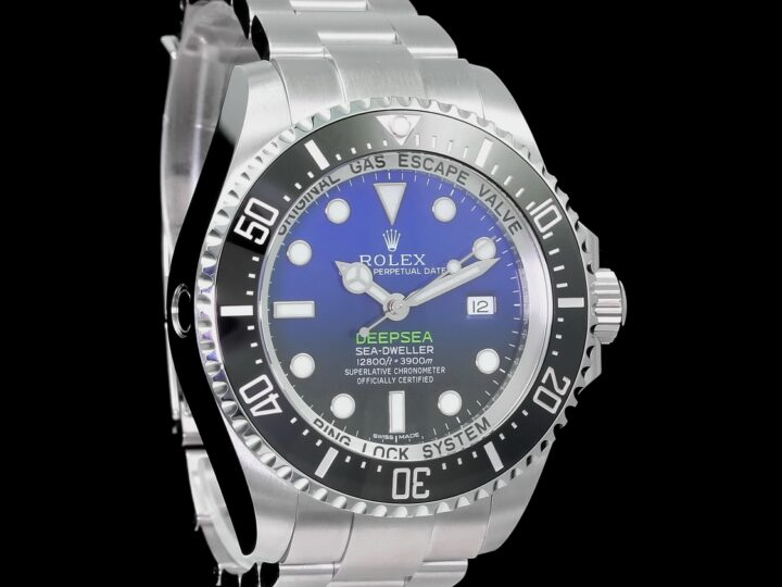 Rolex Sea-Dweller Deepsea Deep Blue D-blue 3900M 44mm, 116660
