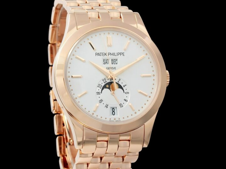 Patek Philippe Annual Calendar Complications, Rose Gold, 5396/1R-010