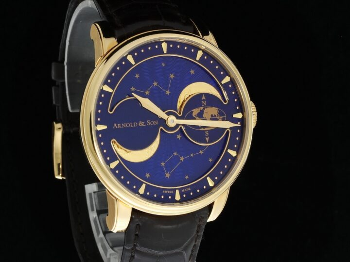 Arnold & Son HM Double Hemisphere Perpetual Moon 42mm, Limited Edition, Rotgold, 1GLAR.U03A.C122A