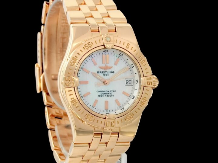 Breitling Windrider Starliner 31mm, Limited Edition 500, Rosegold, H71340