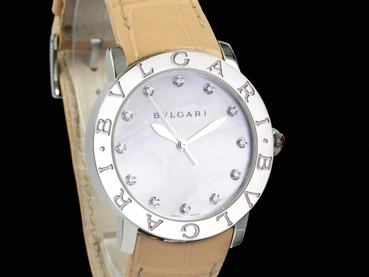 Bvlgari Bvlgari Automatic 37mm, Mother of Pearl, Perlmutt, BBL37WSL/12, 101894