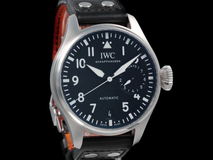 IWC Große Fliegeruhr Big Pilot 46mm, 7 Days Power Reserve, IW500912
