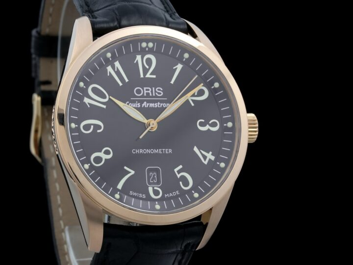 Oris Louis Armstrong 100th Birthday, Limited of 100pcs, Rosegold, 637-7504-06-84