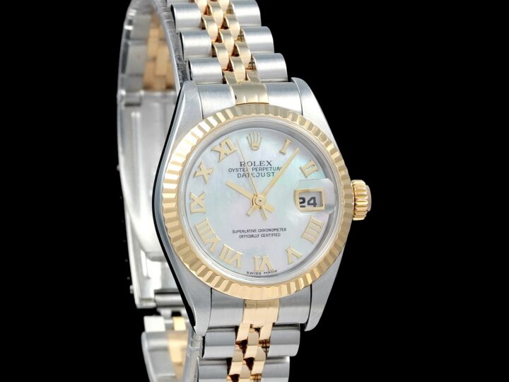 Rolex Lady Datejust 26mm, Perlmutt, 79173