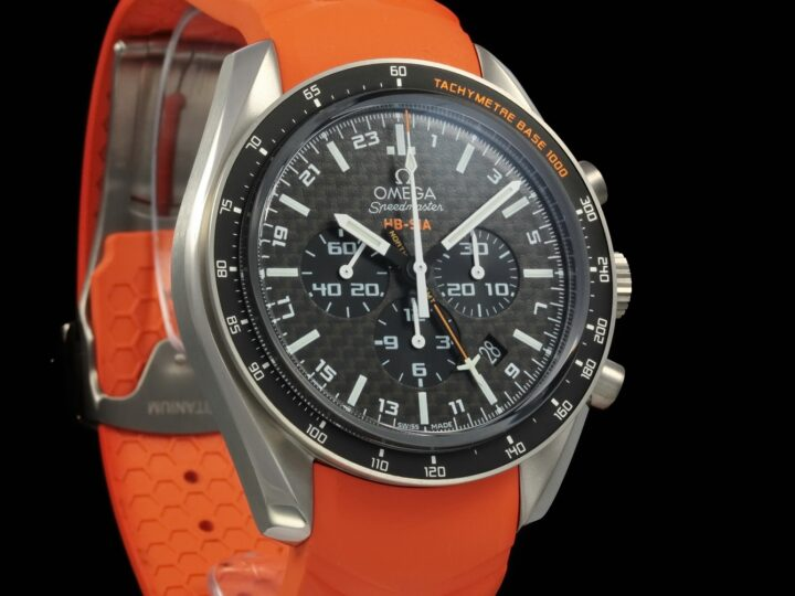 Omega Speedmaster HB-SIA CO-Axial GMT Chronograph 44,25mm, Numbered Edition, 321.92.44.52.01.003
