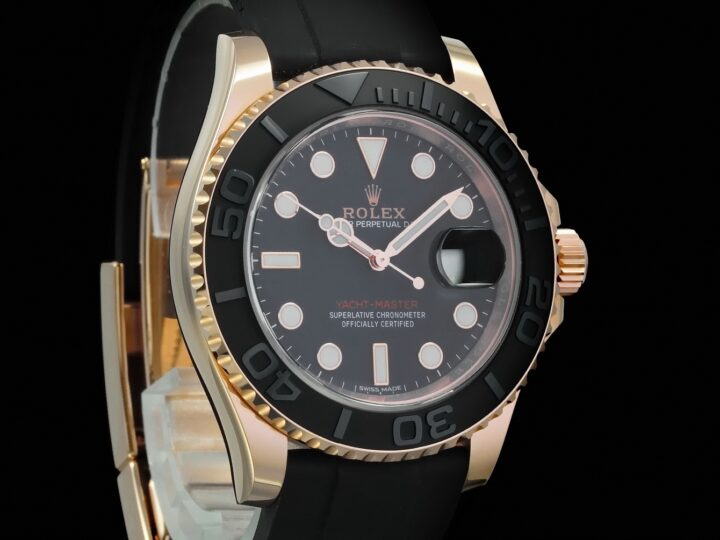 Rolex Yacht Master 40mm, Rosegold, LC100, 116655