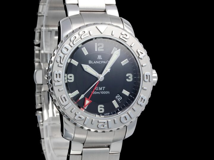 Blancpain Fifty Fathoms GMT 40mm, Trilogy Collection, 2250-1130-71