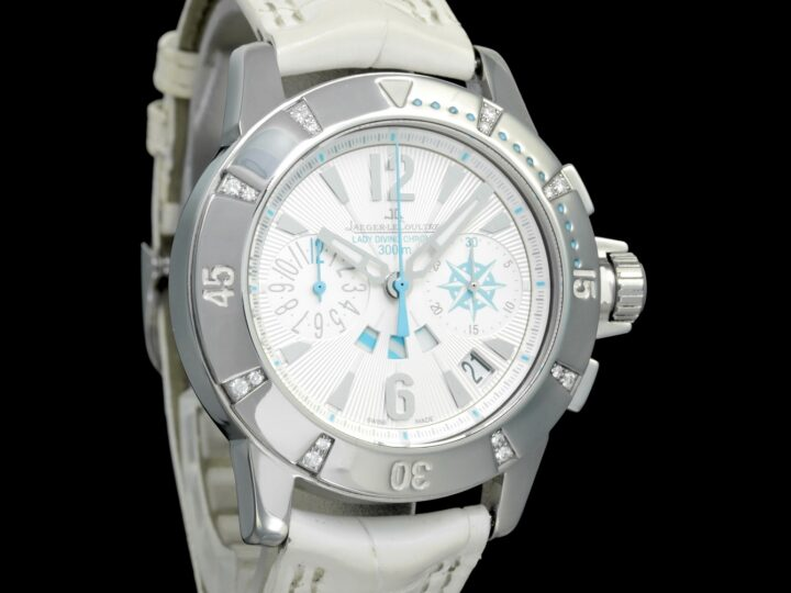 Jaeger LeCoultre Master 37mm Compressor Diving Chronograph Lady, 156.8.25