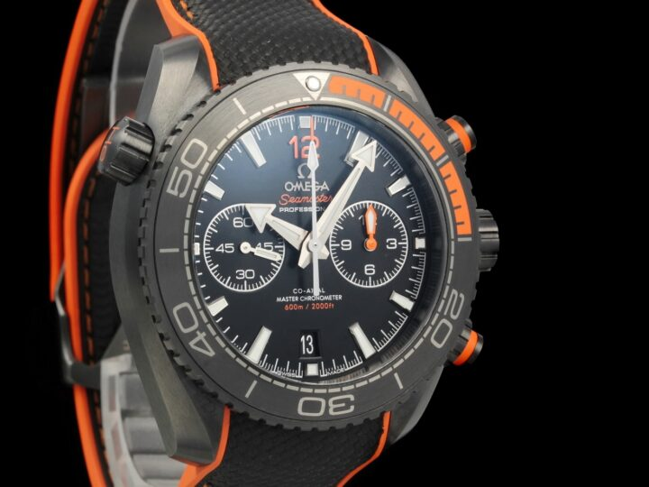 Omega Seamaster Planet Ocean 600M Deep Black 45.5mm, 215.92.46.51.01.001