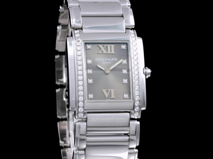Patek Philippe Twenty-4 Edelstahl Eternal Gray, 4910/10A-010
