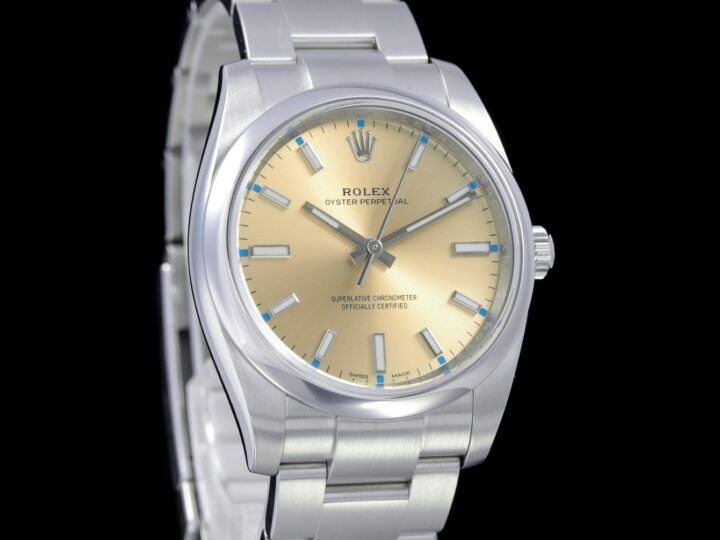 Rolex Oyster Perpetual 34, Oystersteel, 114200