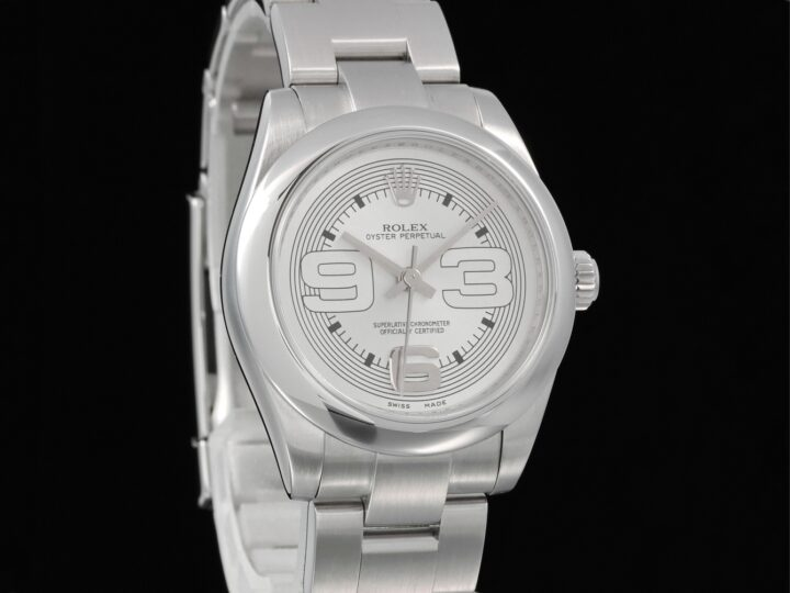 Rolex Oyster Perpetual Edelstahl 31mm, 177200