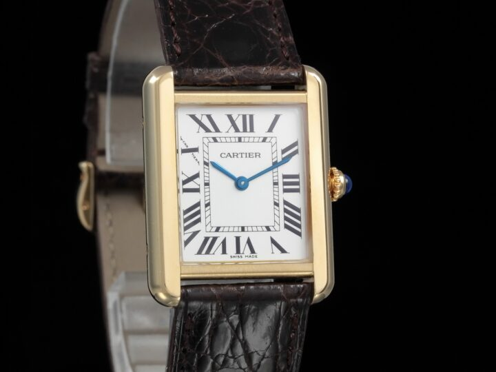 Cartier Tank Solo Ladies, Gelbgold, 31x24,4mm, W5200002, 2743