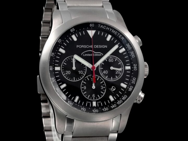 Porsche Design Chronograph Titan 42mm, PTC 911 Limited Edition, 6612.11/1