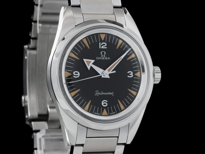 Omega Railmaster Co-Axial Master Chronometer 38mm, Limited Edition 3557, 220.10.38.20.01.002