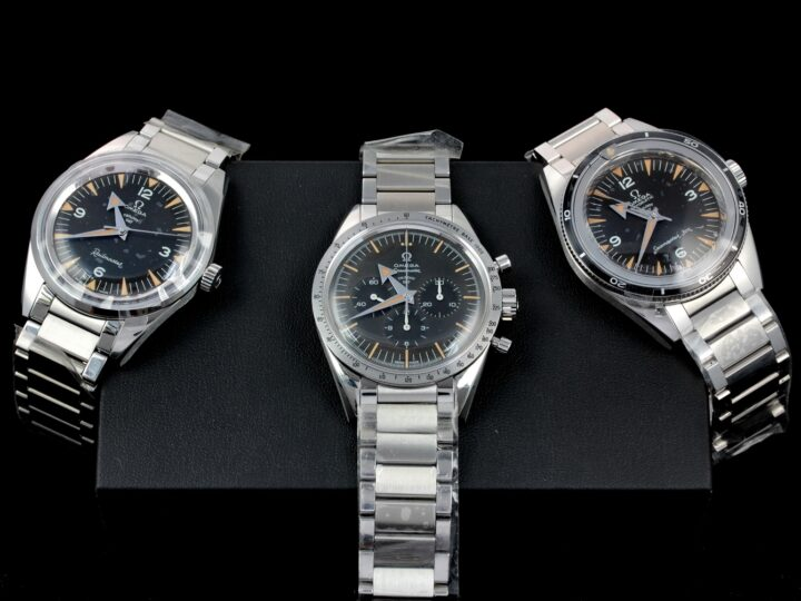 Omega Specialities 1957 Trilogy SET of 3, 60th Anniversary, Limited Edition 557pcs.