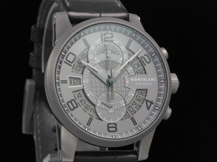 Montblanc Time Walker II Twinfly GreyTech 43mm, Limited Edition 888, 107338