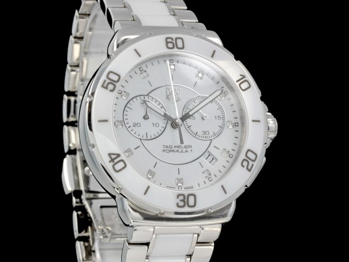 Tag Heuer Formula 1 Ceramic Chronograph Lady, Diamonds, CAH1211.BA0683