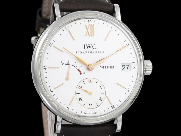 IWC Portofino 8 Days, Hand-wounded, Edelstahl, IW510103