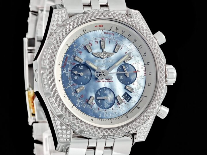 Breitling Bentley 44 B06 S Diamondworks, Blue Pearl Dial, AB061263/BE27