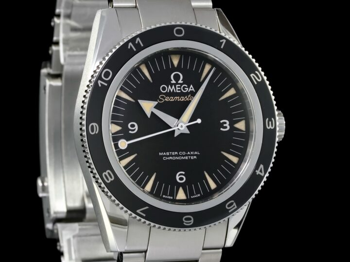 "Omega Seamaster 300 Master Co-Axial Edelstahl ""Spectre"" 7007 Limited Edition 41mm, 233.32.41.21.01.001"
