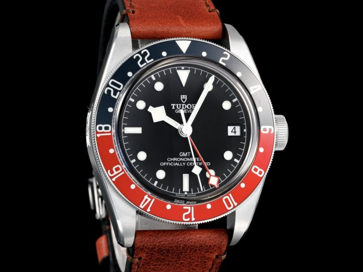 "Tudor Black Bay GMT 41mm, Lederband ""Terra di Siena"", M79830RB-0002"