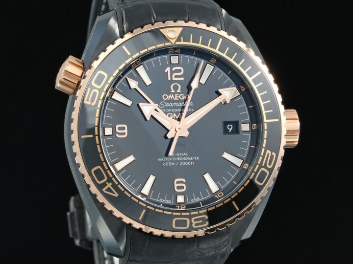 Omega Deep Black Planet Ocean 600M Master Chronometer GMT 45,5 MM, 21563462201001