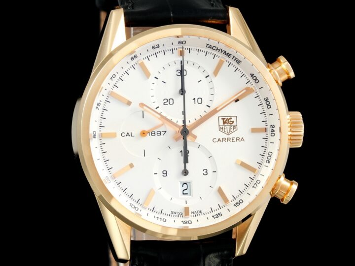 Tag Heuer Carrera 41mm Calibre 1887, Rosegold, CAR2140.FC8145