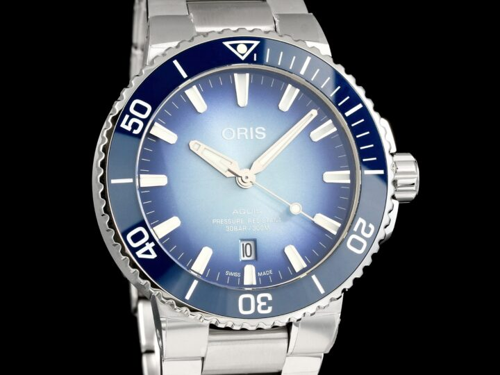 Oris Aquis Limited Edition, Blue Lake Baikal 1999pcs., 01 733 7730 4175
