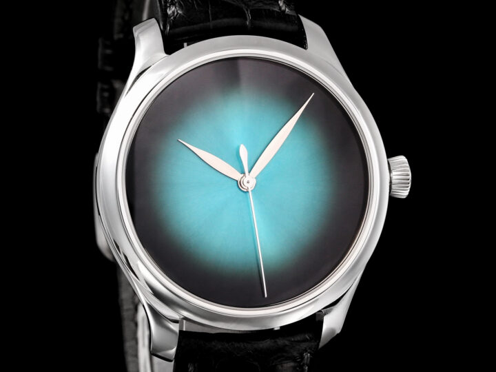 H.Moser & Cie. Endeavour Concept Centre Seconds, Limited Edition 100, Blue Lagoon, 1200-1213