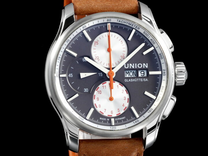Union Glashütte Viro Chronograph Special Edition, Brown/Orange, D001.414.16.16.291.00