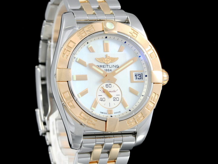 Breitling Galactic 36 MOP, Automatic, Rosegold/Stahl, C37330 /121A1C1